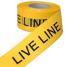 Electrical warning tapes