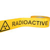 Radiation warning tapes