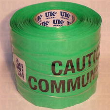 COMMUNICATIONS CABLE detection tape