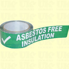 Asbestos Free Insulation adhesive tape (stock clearance)