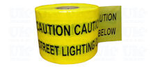 STREET LIGHTING CABLE warning tape