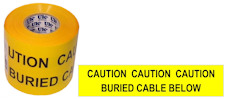 BURIED CABLE warning tape