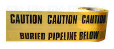 BURIED PIPELINE warning tape