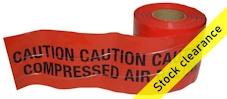 COMPRESSED AIR detection tape