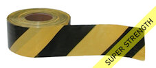 SUPER barrier tape - black & yellow (500M)
