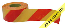 SUPER barrier tape - red & yellow