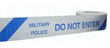 MILITARY POLICE DO NOT ENTER barrier tape