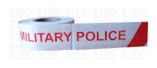 MILITARY POLICE + stripe barrier tape