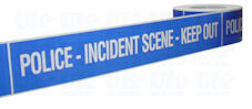 POLICE INCIDENT SCENE KEEP OUT barrier tape
