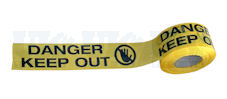 DANGER KEEP OUT barrier tape