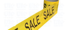 SALE SALE barrier tape