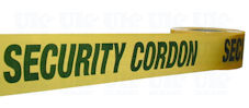 SECURITY CORDON barrier tape