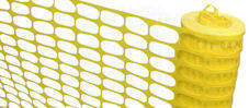 Fencing mesh (yellow)