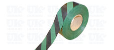 Flagging tape : black & green
