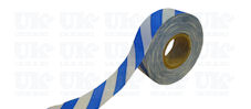 Flagging tape : blue & white