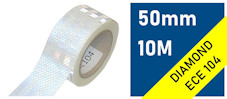 ECE104 Reflective Tape : silvery white