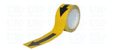 ARROW marking tape: black & yellow