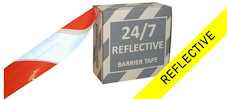 24/7 Reflective Barrier Tape