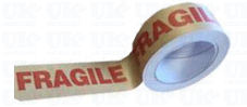 Biodegradable FRAGILE paper tape
